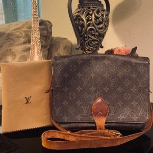 Louis Vuitton Vintage Cartouchiere crossbody  bag
